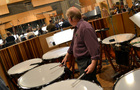 Don Williams on timpani