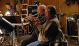 Tim Morrison and David Washburn on trumpet