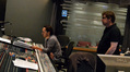 Composer Steve Jablonsky and scoring mixer Alan Meyerson