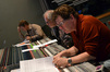 Technical score engineer Erick DeVore, supervising orchestrator Bruce Fowler and scoring mixer Alan Meyerson