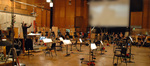 Nick Glennie-Smith conducts the brass on <i>Your Highness</i>