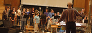 Nick Glennie-Smith conducts the choir on <i>Your Highness</i>