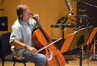 Steve Erdody performs cello solos