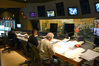 Scoring mixer Frank Wolf, composer Mervyn Warren and orchestrator Brad Dechter