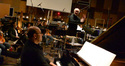 John Williams conducts as Randy Kerber plays piano