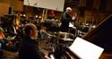 John Williams conducts as Randy Kerber plays piano