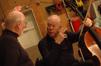 John Williams talks with cellist Lynn Harrell