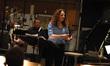Helen Nightengale describes the project to the orchestra
