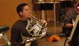 Dan Kelley on French horn