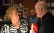 Soprano Christine Brewer talks with conductor John Williams