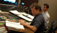 Scoring mixer Frank Wolf and composer Ramin Djawadi
