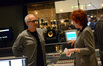 Composer James Newton Howard and orchestra contractor Sandy De Crescent