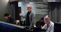Orchestrator Jeff Atmajian, composer James Newton Howard and scoring mixer Shawn Murphy