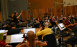 John Elg conducts the orchestra for <i>Ted</i>