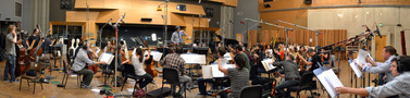 The Hollywood Studio Symphony performs on <em>Girl Most Likely</em>