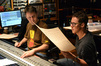 Scoring mixer John Rodd and composer Frederik Wiedmann
