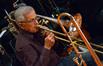 Trombonist Bill Booth