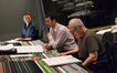 Orchestrator Stephen Coleman, composer Ramin Djawadi, and scoring mixer Dennis Sands