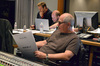 Technical score advisor Brandon Campbell, music editor Peter Myles, and scoring mixer Dennis Sands