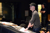 Composer Andrew Lockington listens as his score to <i>Percy Jackson: Sea of Monsters</i> is recorded