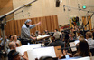 Conductor Nicholas Dodd and the Hollywood Studio Symphony perform on <i>Percy Jackson: Sea of Monsters</i>