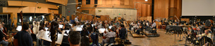 The Hollywood Studio Symphony performs on <i>Percy Jackson: Sea of Monsters</i>