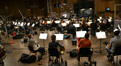 The Hollywood Studio Symphony records a cue from <i>White House Down</i>