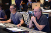 Composer Marco Beltrami and scoring mixer John Kurlander