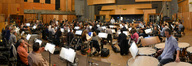 Pete Anthony and the Hollywood Studio Symphony record a cue from <i>The Wolverine</i>