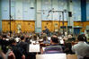 Gavin Greenaway conducts <i>How to Train Your Dragon 2</i> at Abbey Road Studios