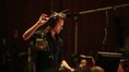 Composer Brian Tyler prepares to give the downbeat