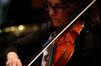 A violinist performs on Brian Tyler's score for <i>Teenage Mutant Ninja Turtles</i>