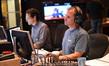 Music editor Dan Pinder and digital recordist Kevin Globerman
