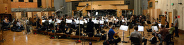 The orchestra on <i>Big Hero 6</i> waits to record the next cue