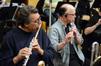 Flutists Steve Kujala and Dick Mitchell