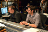 Scoring mixer Gustavo Borner and co-composer Philip Klein