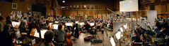 Composer Joel McNeely conducts a 98-piece orchestra on <i>A Million Ways To Die In The West</i>