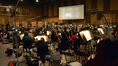 Conductor Tim Davies and an 82-piece orchestra record Christophe Beck's score to <i>Muppets Most Wanted</i>