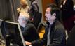 Music editor Richard Ford and ProTools recordist Larry Mah