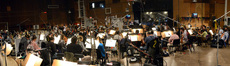 Conductor Tim Davies and the orchestra record on <i>Muppets Most Wanted</i>