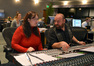 Orchestrator Penka Kouneva and composer Nathan Furst discuss a cue