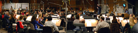 Tim Davies conducts the orchestra on <i>Need for Speed</i>