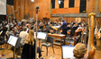 Conductor Jose Serebrier and the Hollywood Studio Symphony record on <i>Rio 2</i>