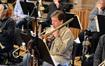 Trombonist Steve Holtman performs a solo