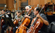 Principal cello Andrew Shulman and cellist Trevor Handy