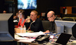 Additional music editor Stephanie Lowry, composer John Ottman, and orchestrator Rick Giovinazzo