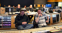 Additional music editor Stephanie Lowry (obscured), composer John Ottman, re-recording mixer Ron Bartlett, orchestrator Rick Giovinazzo, scoring mixer Casey Stone, and ProTools recordist Larry Mah