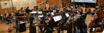 The Hollywood Studio Symphony and conductor Jeffrey Schindler