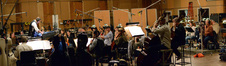 The orchestra performs a cue for <i>Agent Carter</i> under the baton of composer Chris Lennertz