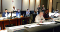 Inside the booth at Warner Bros. while recording <i>Black Mass</i>